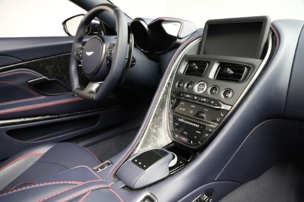 New 2021 Aston Martin DBS Superleggera Volante Convertible for sale $402,286 at Alfa Romeo of Greenwich in Greenwich CT 06830 24
