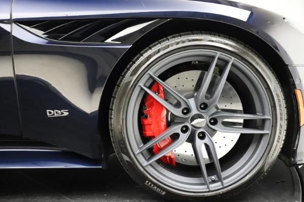 New 2021 Aston Martin DBS Superleggera Volante Convertible for sale $402,286 at Alfa Romeo of Greenwich in Greenwich CT 06830 27
