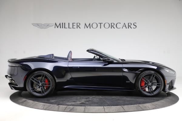 New 2021 Aston Martin DBS Superleggera Volante Convertible for sale $402,286 at Alfa Romeo of Greenwich in Greenwich CT 06830 8