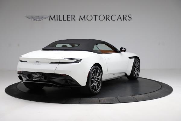 New 2021 Aston Martin DB11 Volante for sale $269,486 at Alfa Romeo of Greenwich in Greenwich CT 06830 16