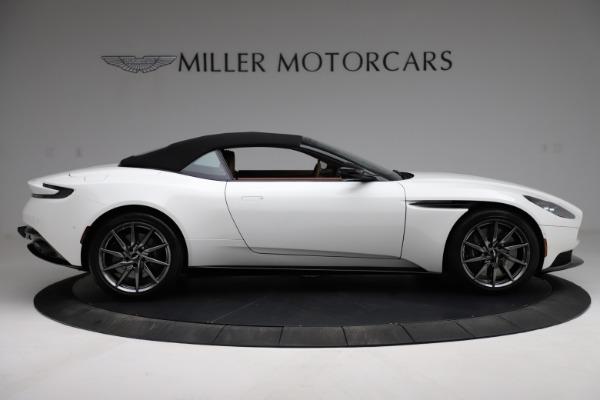 New 2021 Aston Martin DB11 Volante for sale $269,486 at Alfa Romeo of Greenwich in Greenwich CT 06830 17