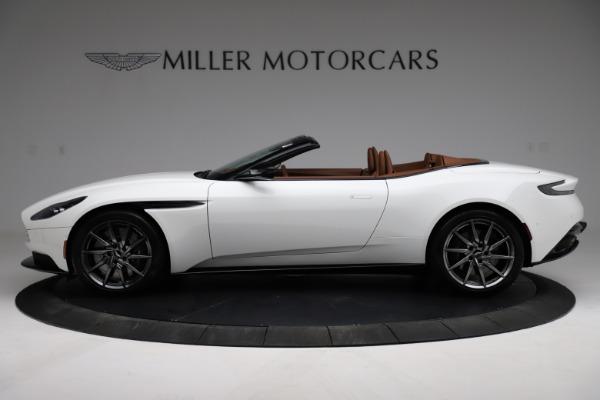 New 2021 Aston Martin DB11 Volante for sale $269,486 at Alfa Romeo of Greenwich in Greenwich CT 06830 2