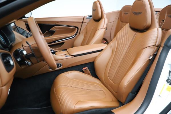 New 2021 Aston Martin DB11 Volante for sale $269,486 at Alfa Romeo of Greenwich in Greenwich CT 06830 21