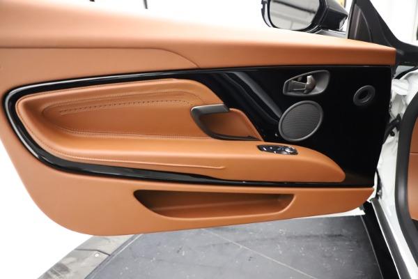 New 2021 Aston Martin DB11 Volante for sale $269,486 at Alfa Romeo of Greenwich in Greenwich CT 06830 22
