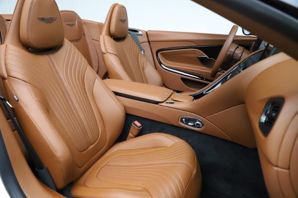 New 2021 Aston Martin DB11 Volante for sale $269,486 at Alfa Romeo of Greenwich in Greenwich CT 06830 25