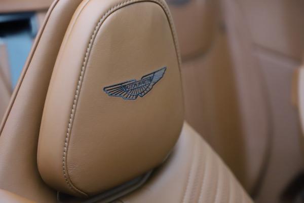 New 2021 Aston Martin DB11 Volante for sale $269,486 at Alfa Romeo of Greenwich in Greenwich CT 06830 26