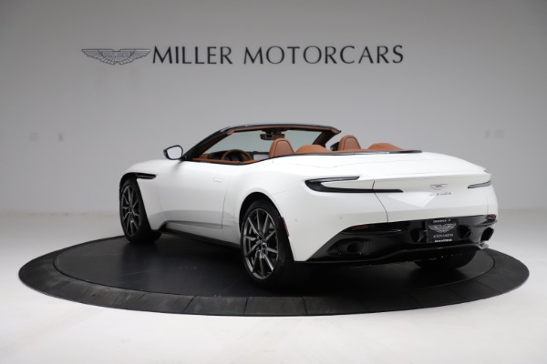 New 2021 Aston Martin DB11 Volante for sale $269,486 at Alfa Romeo of Greenwich in Greenwich CT 06830 4