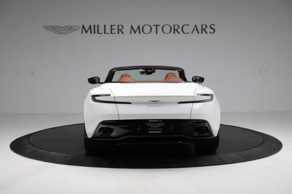 New 2021 Aston Martin DB11 Volante for sale $269,486 at Alfa Romeo of Greenwich in Greenwich CT 06830 5