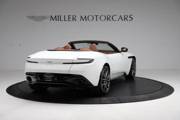 New 2021 Aston Martin DB11 Volante for sale $269,486 at Alfa Romeo of Greenwich in Greenwich CT 06830 6