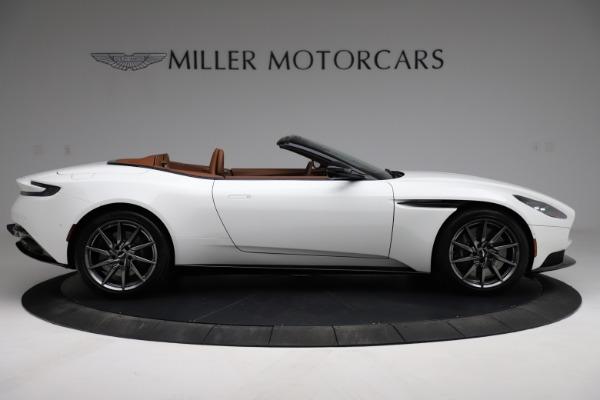 New 2021 Aston Martin DB11 Volante for sale $269,486 at Alfa Romeo of Greenwich in Greenwich CT 06830 8