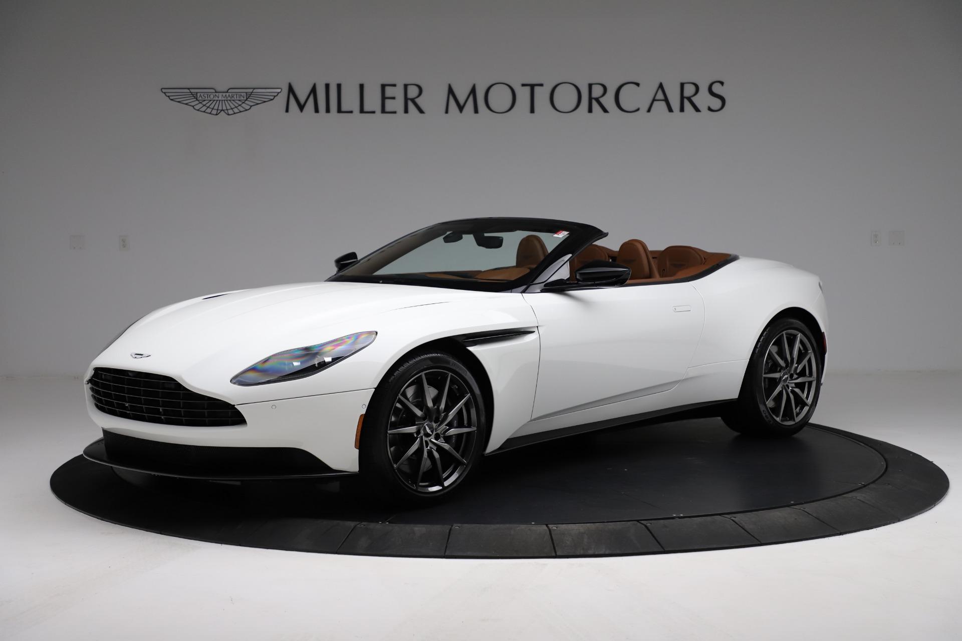 New 2021 Aston Martin DB11 Volante Convertible for sale $269,486 at Alfa Romeo of Greenwich in Greenwich CT 06830 1