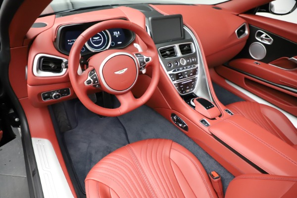 New 2021 Aston Martin DB11 Volante Convertible for sale $261,486 at Alfa Romeo of Greenwich in Greenwich CT 06830 13