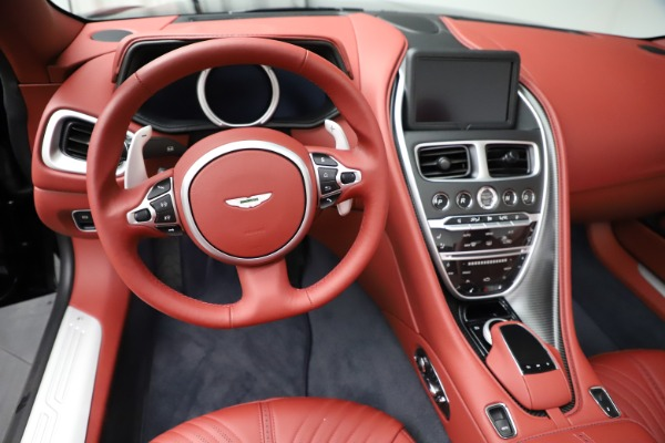 New 2021 Aston Martin DB11 Volante Convertible for sale $261,486 at Alfa Romeo of Greenwich in Greenwich CT 06830 18