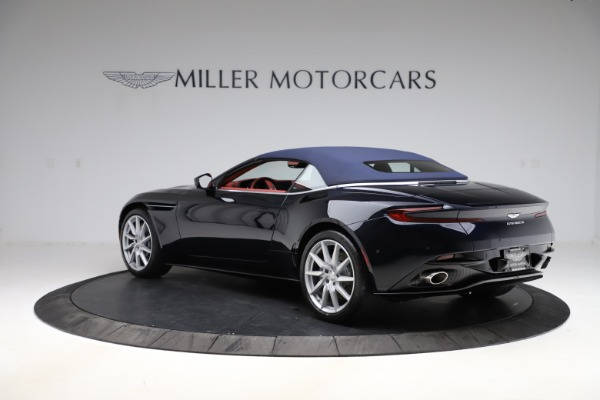 New 2021 Aston Martin DB11 Volante Convertible for sale $261,486 at Alfa Romeo of Greenwich in Greenwich CT 06830 27