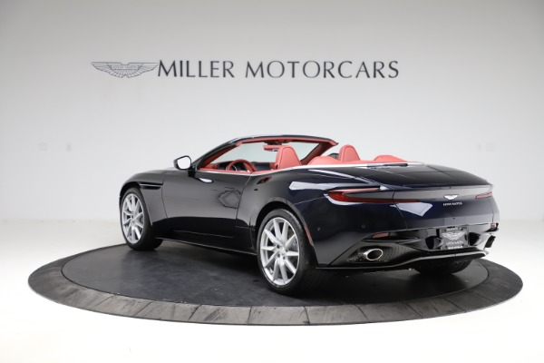New 2021 Aston Martin DB11 Volante Convertible for sale $261,486 at Alfa Romeo of Greenwich in Greenwich CT 06830 4