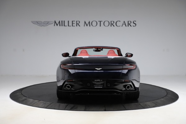 New 2021 Aston Martin DB11 Volante Convertible for sale $261,486 at Alfa Romeo of Greenwich in Greenwich CT 06830 5