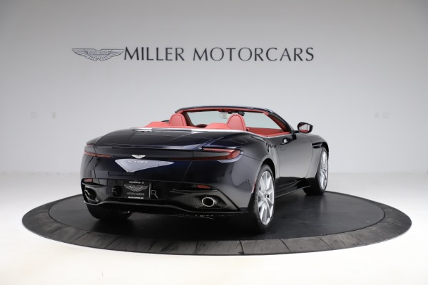 New 2021 Aston Martin DB11 Volante Convertible for sale $261,486 at Alfa Romeo of Greenwich in Greenwich CT 06830 6