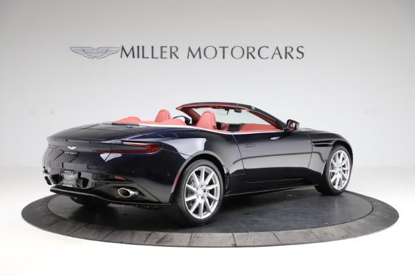 New 2021 Aston Martin DB11 Volante Convertible for sale $261,486 at Alfa Romeo of Greenwich in Greenwich CT 06830 7