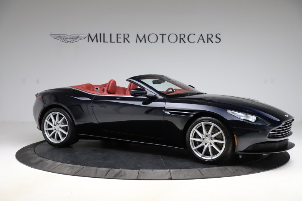 New 2021 Aston Martin DB11 Volante Convertible for sale $261,486 at Alfa Romeo of Greenwich in Greenwich CT 06830 9