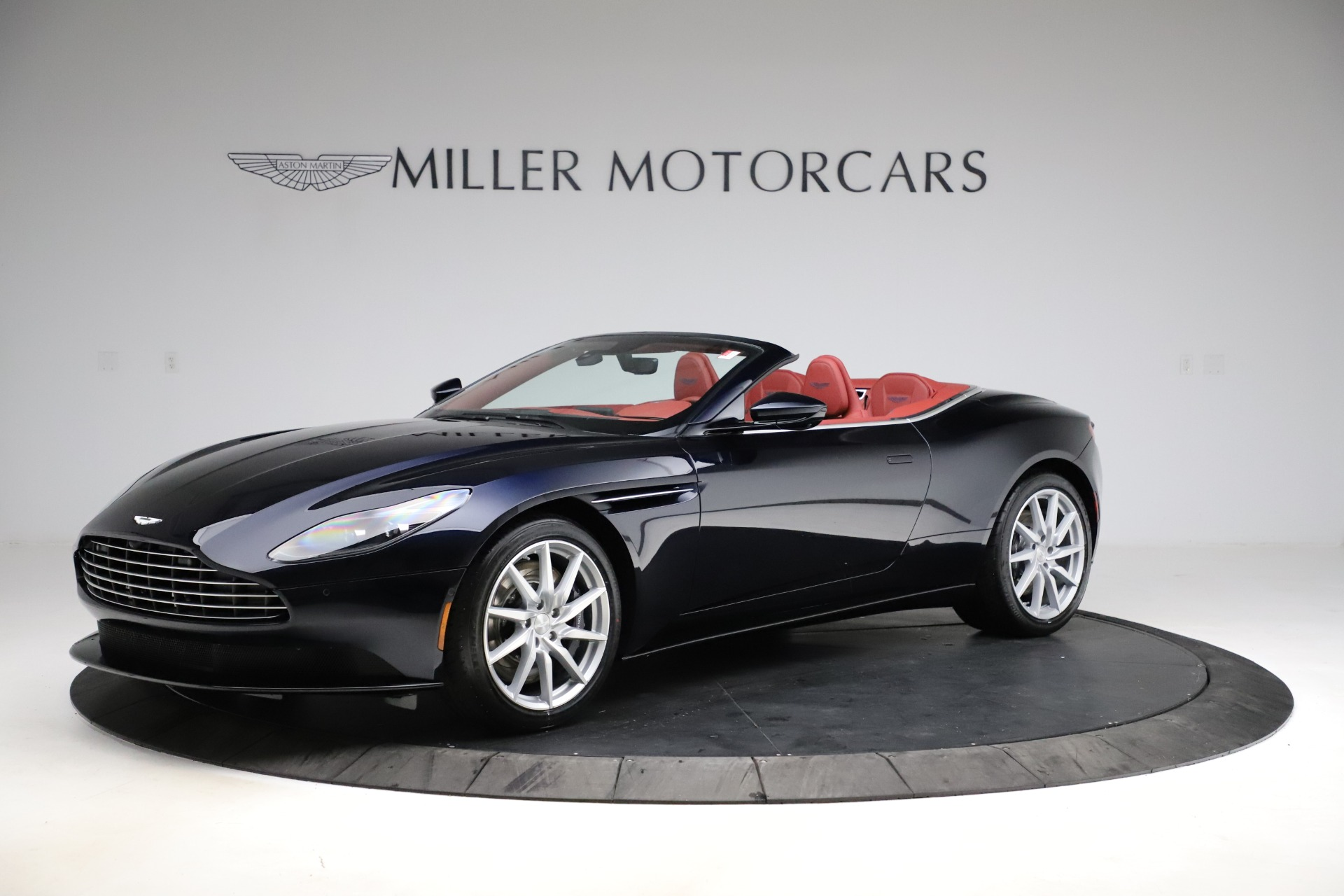 New 2021 Aston Martin DB11 Volante Convertible for sale $261,486 at Alfa Romeo of Greenwich in Greenwich CT 06830 1