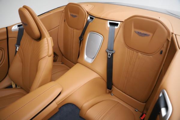 New 2021 Aston Martin DB11 Volante for sale $265,186 at Alfa Romeo of Greenwich in Greenwich CT 06830 17