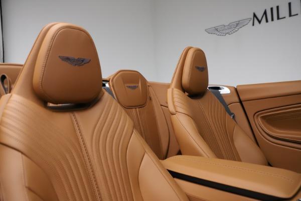 New 2021 Aston Martin DB11 Volante for sale $265,186 at Alfa Romeo of Greenwich in Greenwich CT 06830 19