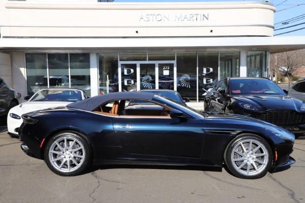 New 2021 Aston Martin DB11 Volante for sale $265,186 at Alfa Romeo of Greenwich in Greenwich CT 06830 27
