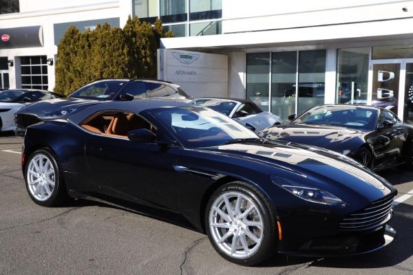 New 2021 Aston Martin DB11 Volante for sale $265,186 at Alfa Romeo of Greenwich in Greenwich CT 06830 28