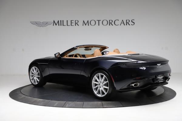 New 2021 Aston Martin DB11 Volante for sale $265,186 at Alfa Romeo of Greenwich in Greenwich CT 06830 3