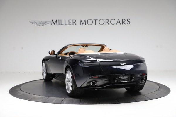 New 2021 Aston Martin DB11 Volante for sale $265,186 at Alfa Romeo of Greenwich in Greenwich CT 06830 4