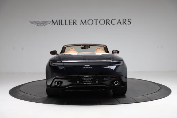 New 2021 Aston Martin DB11 Volante for sale $265,186 at Alfa Romeo of Greenwich in Greenwich CT 06830 5