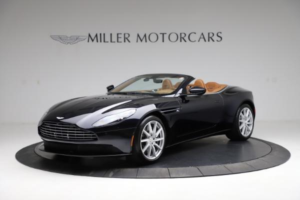 New 2021 Aston Martin DB11 Volante for sale $265,186 at Alfa Romeo of Greenwich in Greenwich CT 06830 1