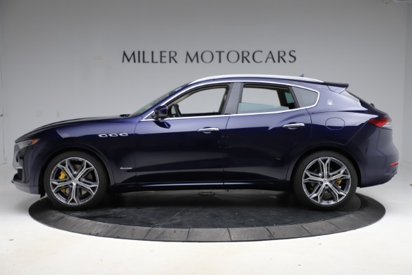 New 2021 Maserati Levante S Q4 GranLusso for sale $106,235 at Alfa Romeo of Greenwich in Greenwich CT 06830 3