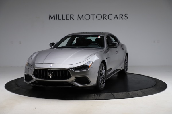 New 2021 Maserati Ghibli S Q4 GranSport for sale $98,125 at Alfa Romeo of Greenwich in Greenwich CT 06830 1