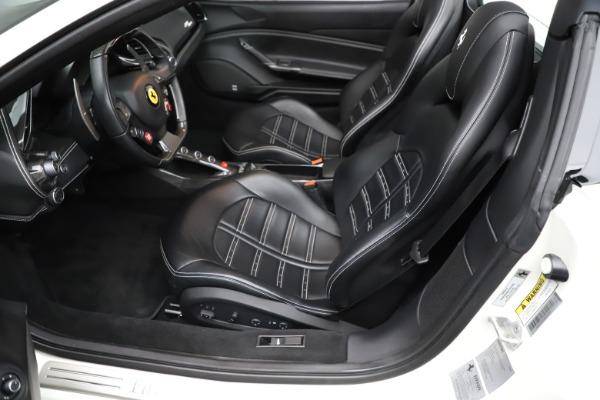 Used 2017 Ferrari 488 Spider for sale $289,900 at Alfa Romeo of Greenwich in Greenwich CT 06830 18