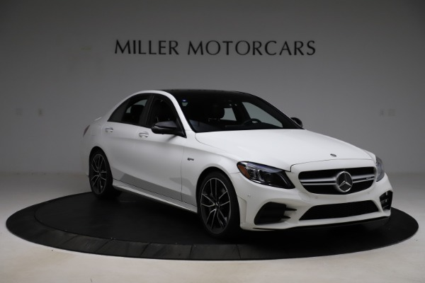 Used 2019 Mercedes-Benz C-Class AMG C 43 for sale $52,990 at Alfa Romeo of Greenwich in Greenwich CT 06830 12