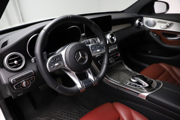 Used 2019 Mercedes-Benz C-Class AMG C 43 for sale $52,990 at Alfa Romeo of Greenwich in Greenwich CT 06830 14