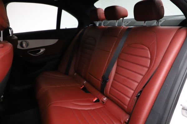 Used 2019 Mercedes-Benz C-Class AMG C 43 for sale $52,990 at Alfa Romeo of Greenwich in Greenwich CT 06830 21