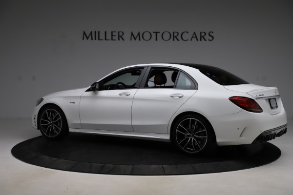 Used 2019 Mercedes-Benz C-Class AMG C 43 for sale $52,990 at Alfa Romeo of Greenwich in Greenwich CT 06830 5