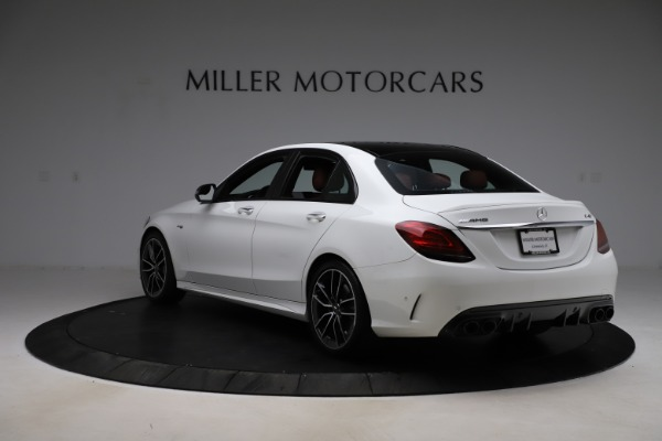 Used 2019 Mercedes-Benz C-Class AMG C 43 for sale $52,990 at Alfa Romeo of Greenwich in Greenwich CT 06830 6