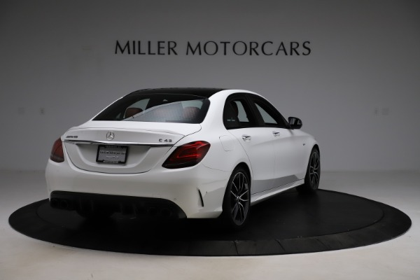 Used 2019 Mercedes-Benz C-Class AMG C 43 for sale $52,990 at Alfa Romeo of Greenwich in Greenwich CT 06830 8