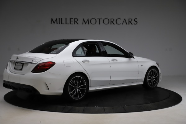 Used 2019 Mercedes-Benz C-Class AMG C 43 for sale $52,990 at Alfa Romeo of Greenwich in Greenwich CT 06830 9