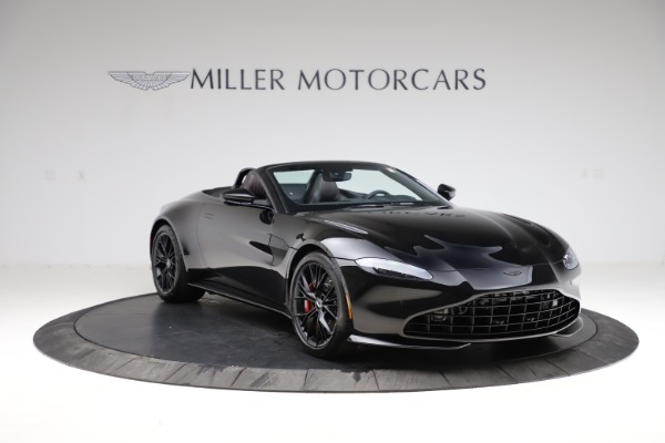 New 2021 Aston Martin Vantage Roadster for sale Sold at Alfa Romeo of Greenwich in Greenwich CT 06830 10