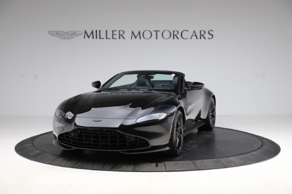 New 2021 Aston Martin Vantage Roadster for sale Sold at Alfa Romeo of Greenwich in Greenwich CT 06830 12