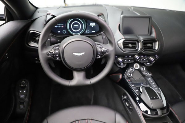 New 2021 Aston Martin Vantage Roadster for sale Sold at Alfa Romeo of Greenwich in Greenwich CT 06830 17