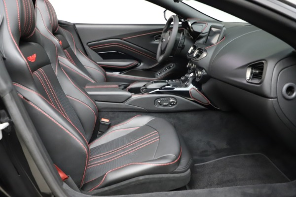 New 2021 Aston Martin Vantage Roadster for sale Sold at Alfa Romeo of Greenwich in Greenwich CT 06830 19
