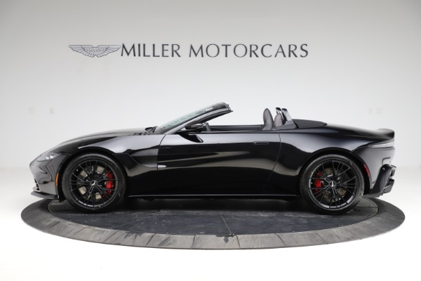 New 2021 Aston Martin Vantage Roadster Convertible for sale $189,186 at Alfa Romeo of Greenwich in Greenwich CT 06830 2