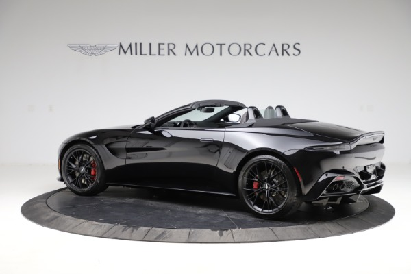 New 2021 Aston Martin Vantage Roadster for sale Sold at Alfa Romeo of Greenwich in Greenwich CT 06830 3