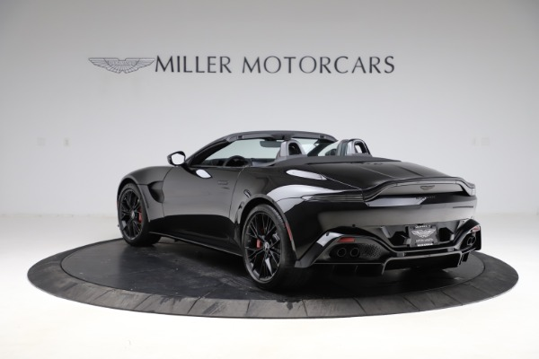 New 2021 Aston Martin Vantage Roadster for sale Sold at Alfa Romeo of Greenwich in Greenwich CT 06830 4