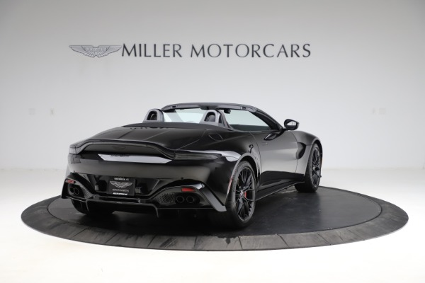 New 2021 Aston Martin Vantage Roadster for sale Sold at Alfa Romeo of Greenwich in Greenwich CT 06830 6